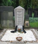 Franz Kafka's grave, New Jewish Cemetery